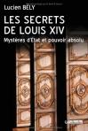 """Couverture du livre : """"Les secrets de Louis XIV"""""""