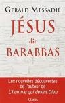 """Couverture du livre : """"Jésus dit Barabbas"""""""