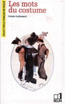 """Couverture du livre : """"Les mots du costume"""""""