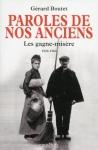 """Couverture du livre : """"Paroles de nos anciens"""""""