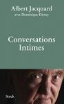 """Couverture du livre : """"Conversations intimes"""""""