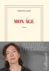 """Couverture du livre : """"Mon âge"""""""