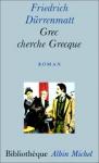 """Couverture du livre : """"Grec cherche Grecque"""""""
