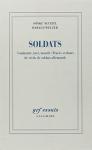 """Couverture du livre : """"Soldats"""""""