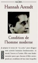 """Couverture du livre : """"Condition de l'homme moderne"""""""