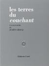 """Couverture du livre : """"Les terres du couchant"""""""
