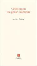 """Couverture du livre : """"Célébration du génie colérique"""""""