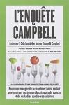 """Couverture du livre : """"L'enquête Campbell"""""""