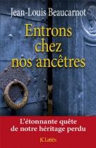 """Couverture du livre : """"Entrons chez nos ancêtres"""""""