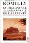 """Couverture du livre : """"La Grèce antique à la découverte de la liberté"""""""
