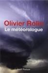 """Couverture du livre : """"Le météorologue"""""""
