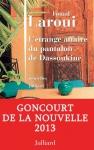 """Couverture du livre : """"L'étrange affaire du pantalon de Dassoukine"""""""