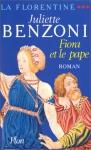 """Couverture du livre : """"Fiora et le pape"""""""