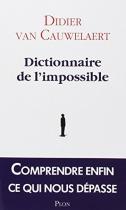 """Couverture du livre : """"Dictionnaire de l'impossible"""""""