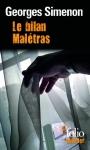 """Couverture du livre : """"Le bilan Malétras"""""""