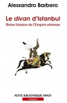 """Couverture du livre : """"Le divan d'Istanbul"""""""