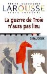 """Couverture du livre : """"La guerre de Troie n'aura pas lieu"""""""