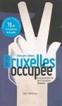 """Couverture du livre : """"Bruxelles occupée"""""""
