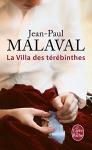 """Couverture du livre : """"La villa des térébinthes"""""""