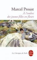 """Couverture du livre : """"À l'ombre des jeunes filles en fleurs"""""""