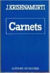 """Couverture du livre : """"Carnets"""""""