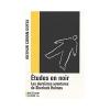 """Couverture du livre : """"Études en noir"""""""