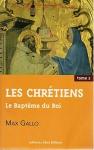 """Couverture du livre : """"Le baptême du roi"""""""