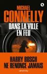 """Couverture du livre : """"Dans la ville en feu"""""""