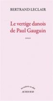 """Couverture du livre : """"Le vertige danois de Paul Gauguin"""""""