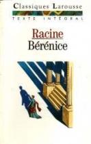 """Couverture du livre : """"Bérénice"""""""