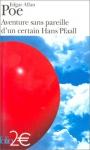 """Couverture du livre : """"Aventure sans pareille d'un certain Hans Pfaal"""""""