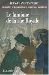"""Couverture du livre : """"Le fantôme de la rue Royale"""""""