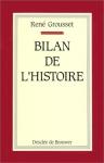 """Couverture du livre : """"Bilan de l'histoire"""""""