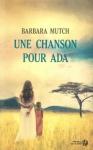 """Couverture du livre : """"Une chanson pour Ada"""""""