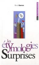 """Couverture du livre : """"Les étymologies surprises"""""""