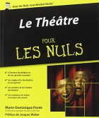 """Couverture du livre : """"Le théâtre pour les nuls"""""""
