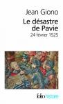 """Couverture du livre : """"Le désastre de Pavie"""""""