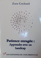 """Couverture du livre : """"Patience enragée"""""""