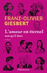 """Couverture du livre : """"L'amour est éternel tant qu'il dure"""""""