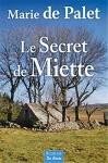 """Couverture du livre : """"Le secret de Miette"""""""