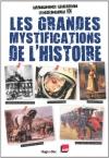 """Couverture du livre : """"Les grandes mystifications de l'histoire"""""""