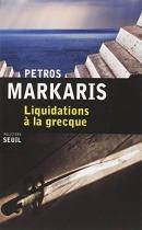 """Couverture du livre : """"Liquidation à la grecque"""""""