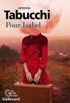"""Couverture du livre : """"Pour Isabel"""""""