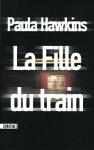 """Couverture du livre : """"La fille du train"""""""