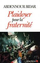 """Couverture du livre : """"Plaidoyer pour la fraternité"""""""