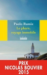 """Couverture du livre : """"Le phare, voyage immobile"""""""