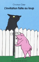 """Couverture du livre : """"L'invitation faite au loup"""""""