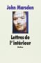 """Couverture du livre : """"Lettres de l'intérieur"""""""