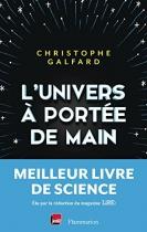 """Couverture du livre : """"L'univers à portée de main"""""""