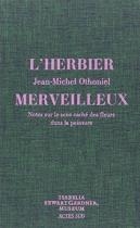 """Couverture du livre : """"L'herbier merveilleux"""""""